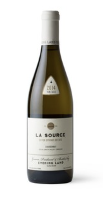 2014 Seven Springs Vineyard, La Source Chardonnay Image