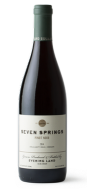 2014 Seven Springs Vineyard, Pinot Noir