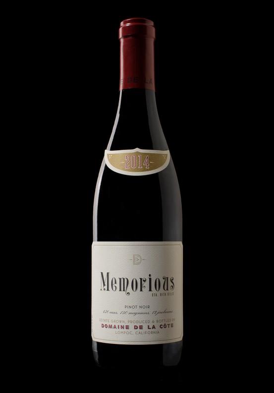 2014 Memorious Pinot Noir